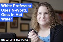 White Professor on Leave After Using N-Word in Class