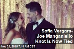Sofia Vergara- Joe Manganiello Knot Is Now Tied