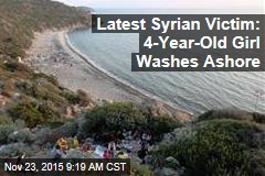 Latest Syrian Victim: 4-Year-Old Girl Washes Ashore