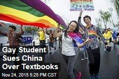 Gay Student Sues China Over Textbooks
