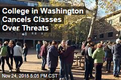 Washington College Cancels Classes Over Hate Speech