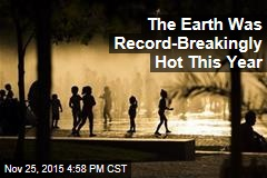 The Earth Was Record-Breakingly Hot This Year