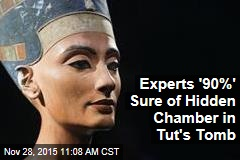 Experts '90%' Sure of Hidden Chamber in Tut's Tomb
