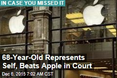 Latest to Trounce Apple in Court: Retiree Who Lost Pics