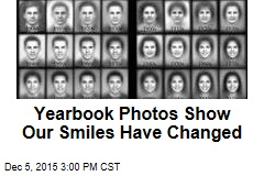 Yearbook Photos Show Our Smiles Have Changed