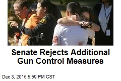 Senate Rejects Additional Gun Control Measures