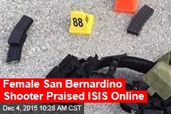 Female San Bernardino Shooter Praised ISIS Online