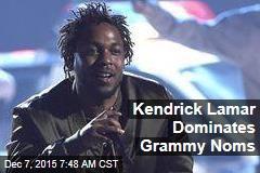 Kendrick Lamar Dominates Grammy Noms