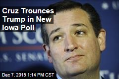 Cruz Trounces Trump in New Iowa Poll