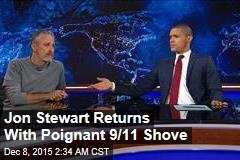 Stewart Returns to Daily Show