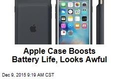 Apple Case Boosts Battery Life, Looks Awful