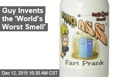 Guy Invents the 'World's Worst Smell'