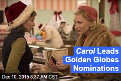 Carol Leads Golden Globes Nominations