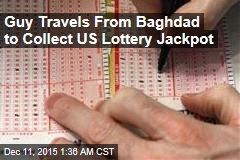 Guy Travels From Baghdad to Collect US Lottery Jackpot