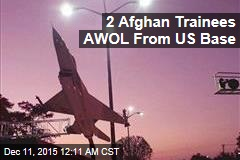 2 Afghan Trainees AWOL From US Base