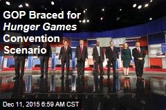 GOP Braced for Hunger Games Convention Scenario