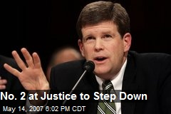 No. 2 at Justice to Step Down