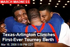 Texas-Arlington Clinches First-Ever Tourney Berth