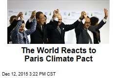 The World Reacts to Paris Climate Pact