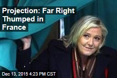 Projection: Far Right Thumped in France