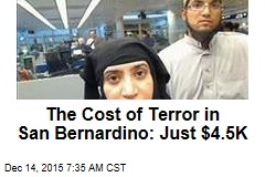 The Cost of Terror in San Bernardino: Just $4.5K