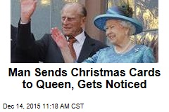 Man Sends Christmas Cards to Queen, Gets Noticed