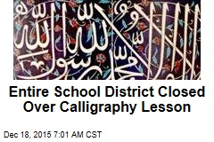 Entire School District Closed Over Calligraphy Lesson