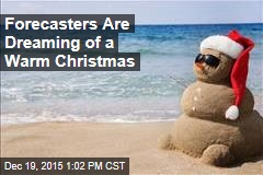 Forecasters Are Dreaming of a Warm Christmas