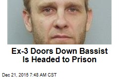 Ex-3 Doors Down Bassist Prison-Bound in Fatal Crash