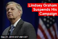 Lindsey Graham Suspends His Campaign