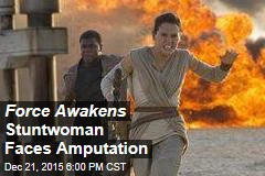 Force Awakens Stuntwoman to Lose an Arm