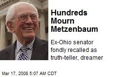 Hundreds Mourn Metzenbaum