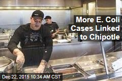 More E. Coli Cases Linked to Chipotle
