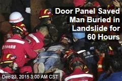 Man Saved 60 Hours After Landslide Buries Building