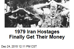 1979 Iran Hostages Finally Get Their Money