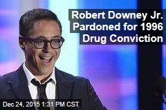 Robert Downey Jr. Pardoned for 1996 Drug Conviction