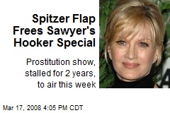 Spitzer Flap Frees Sawyer's Hooker Special