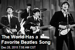 The World Has a Favorite Beatles Song