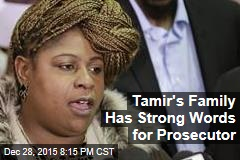 Tamir's Family Has Strong Words for Prosecutor