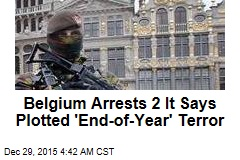 Belgium: NYE Terror Plot Foiled