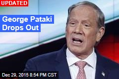 George Pataki Drops Out