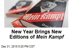 New Year Brings New Editions of Mein Kampf
