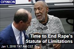 Time to End Rape's Statute of Limitations
