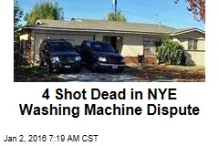 3 Shot Dead in NYE Washing Machine Dispute
