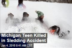Michigan Teen Killed in Sledding Accident
