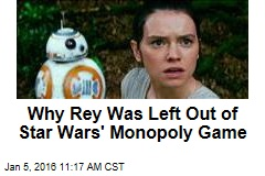 Why Rey Was Left Out of Star Wars' Monopoly Game