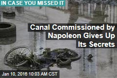 Paris Canal Gives Up Its Secrets