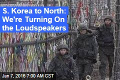 South Korea to North: Our Troops Are Ready