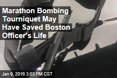 Marathon Bombing Tourniquet May Have Saved Boston Officer's Life