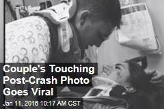 Couple's Touching Post-Crash Photo Goes Viral